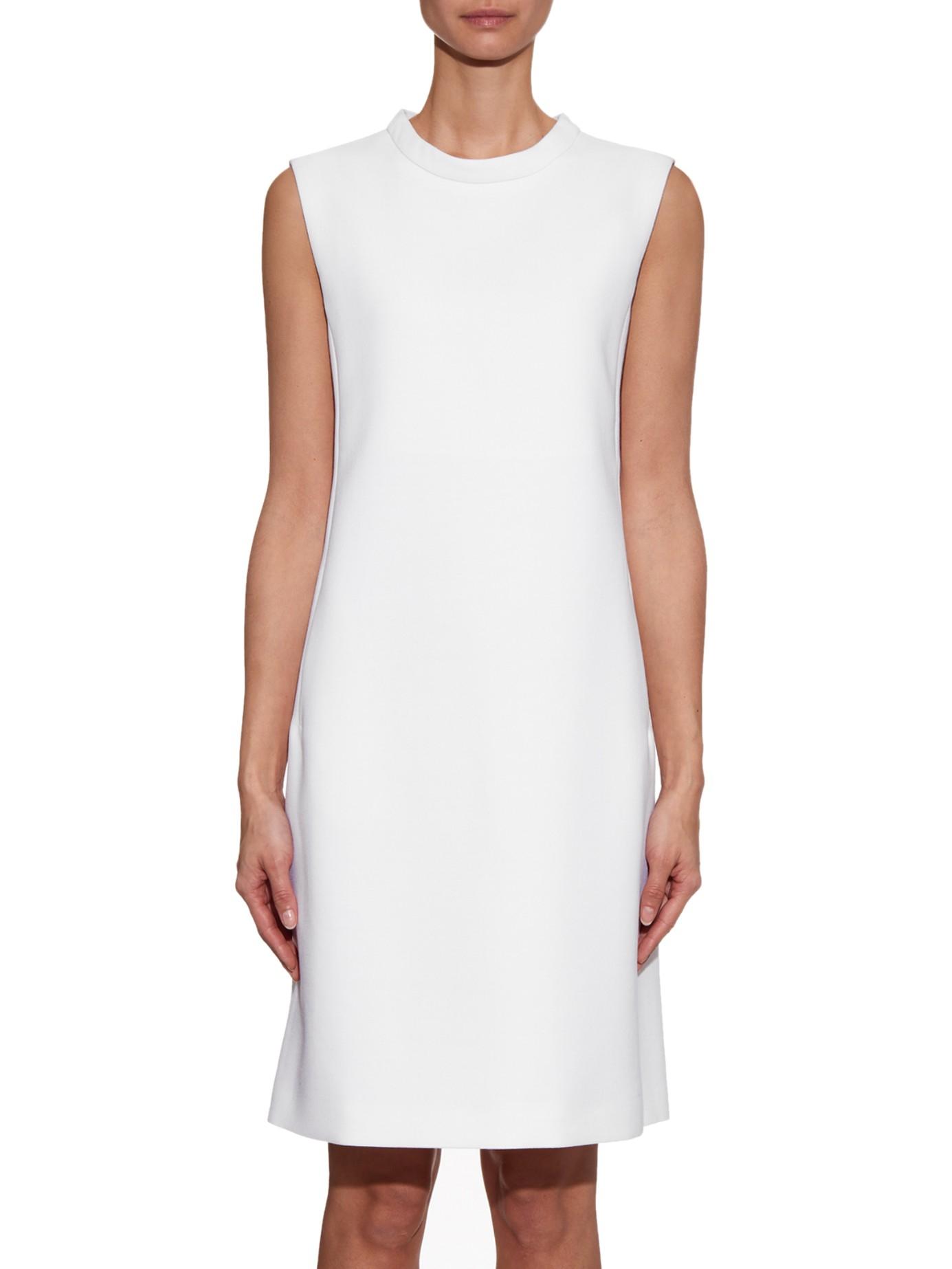 S Max Mara Vicini Dress in White - Lyst
