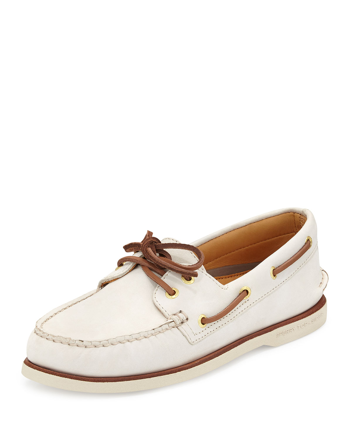 4cf7a4a32483 Sperry Top-Sider Gold Cup Authentic Original Boat Shoe Ivory in ...
