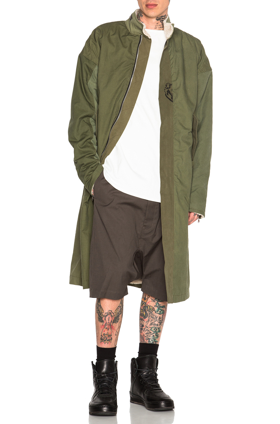 Fear Of God Vietnam Military Deckcoat In Green Lyst