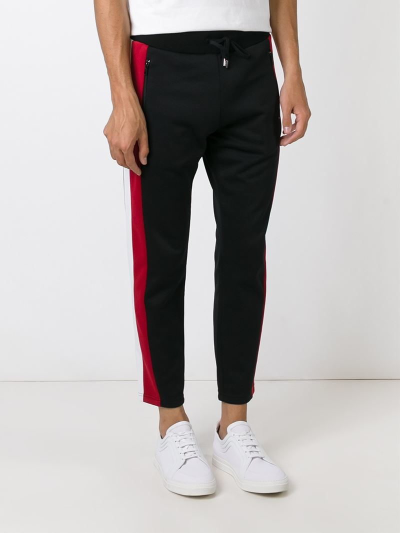 side-striped tapered track pants - Black Moschino Countdown Package Online QfHZ84fL