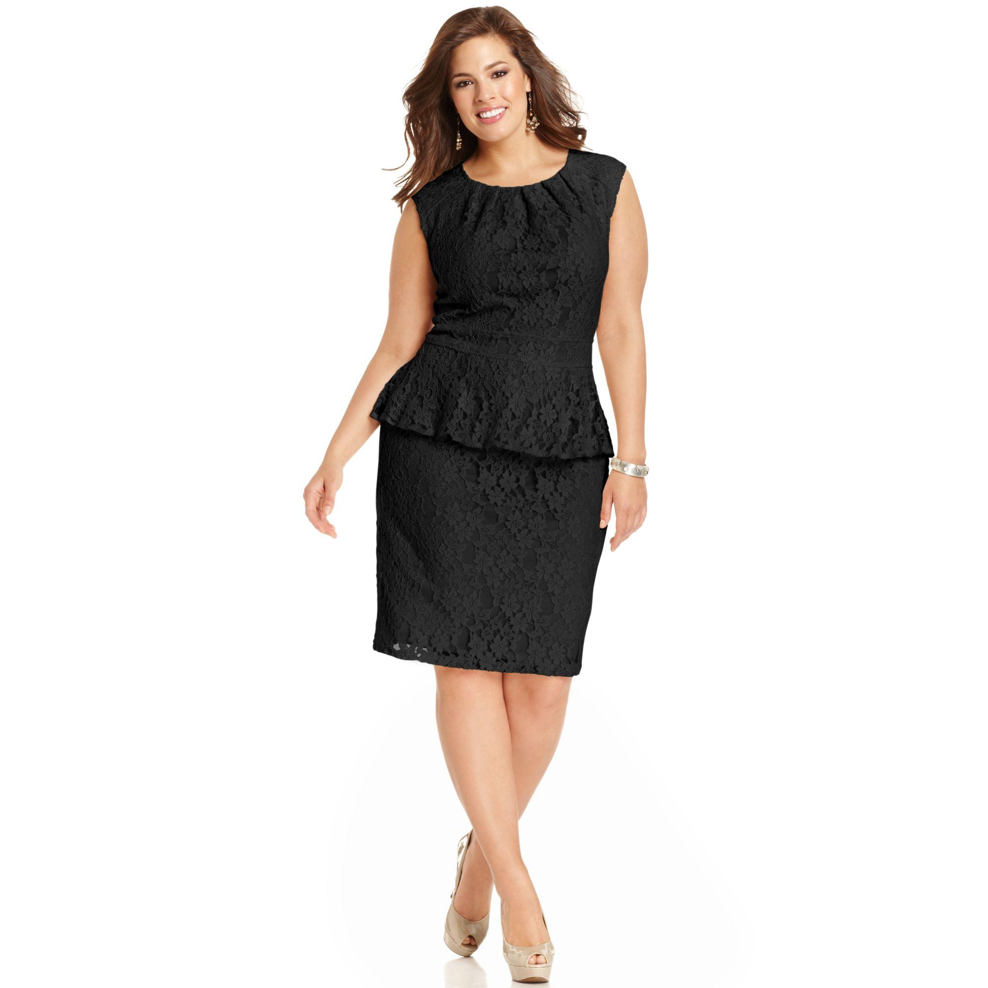 Spense Plus Size Dresses