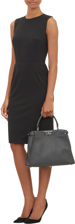 db6e52f95a1 ... leather 7d593 da4cd wholesale fendi selleria peekaboo bag in gray lyst  dc61d 36838 ...