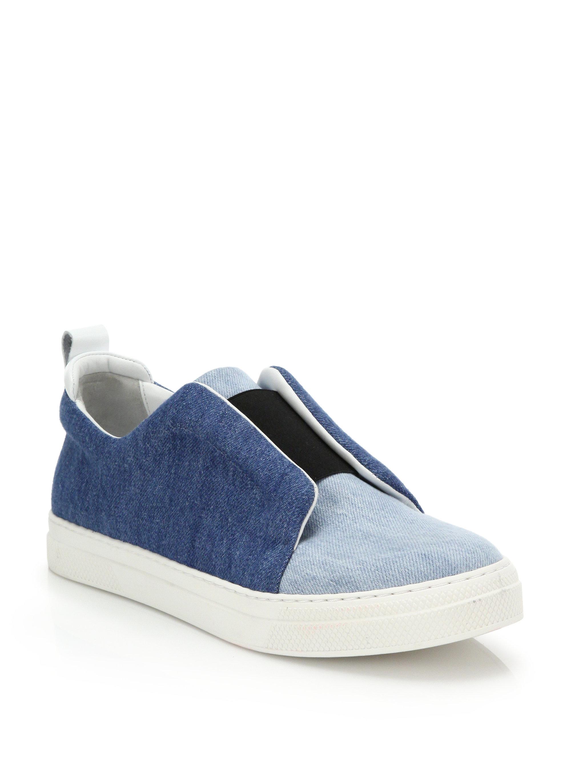 Pierre Slip-on Hardy Chaussures De Sport - Bleu oTNax