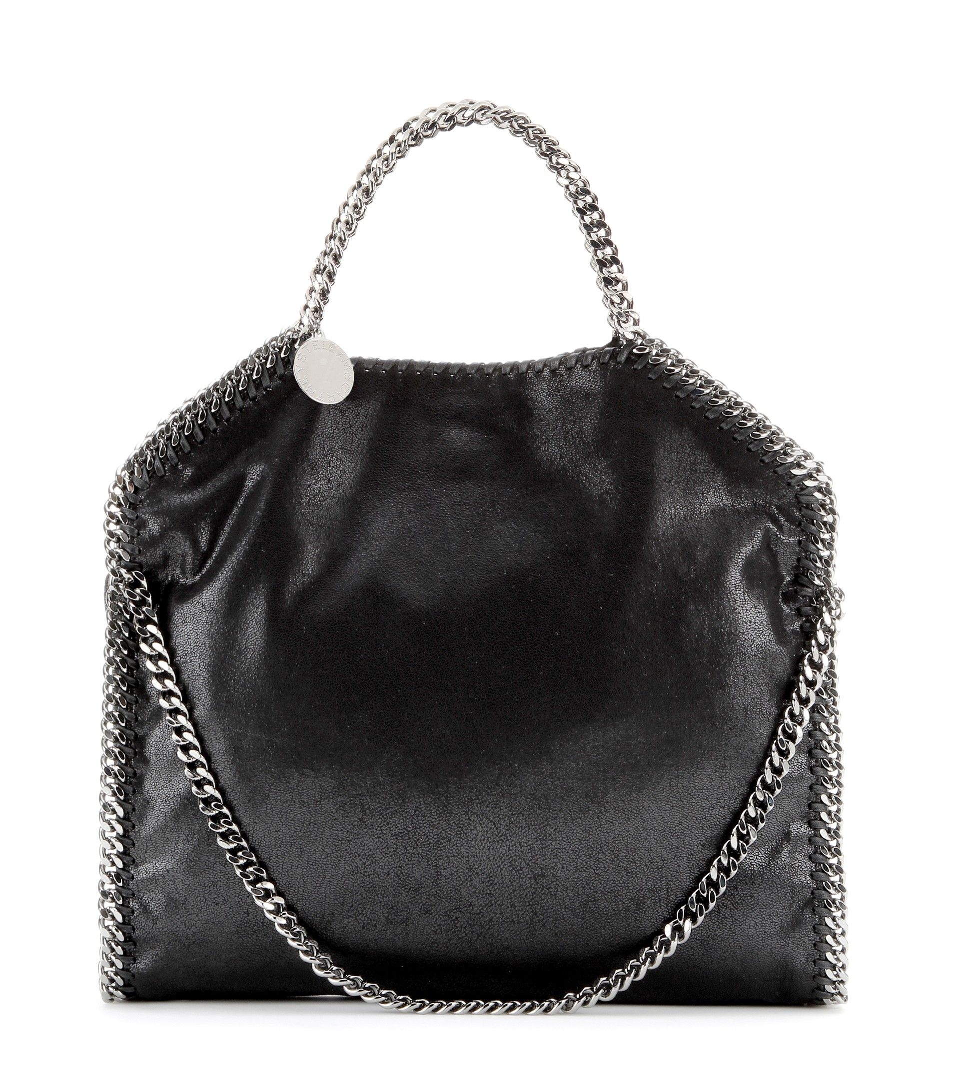stella mccartney falabella small shoulder bag in black lyst. Black Bedroom Furniture Sets. Home Design Ideas
