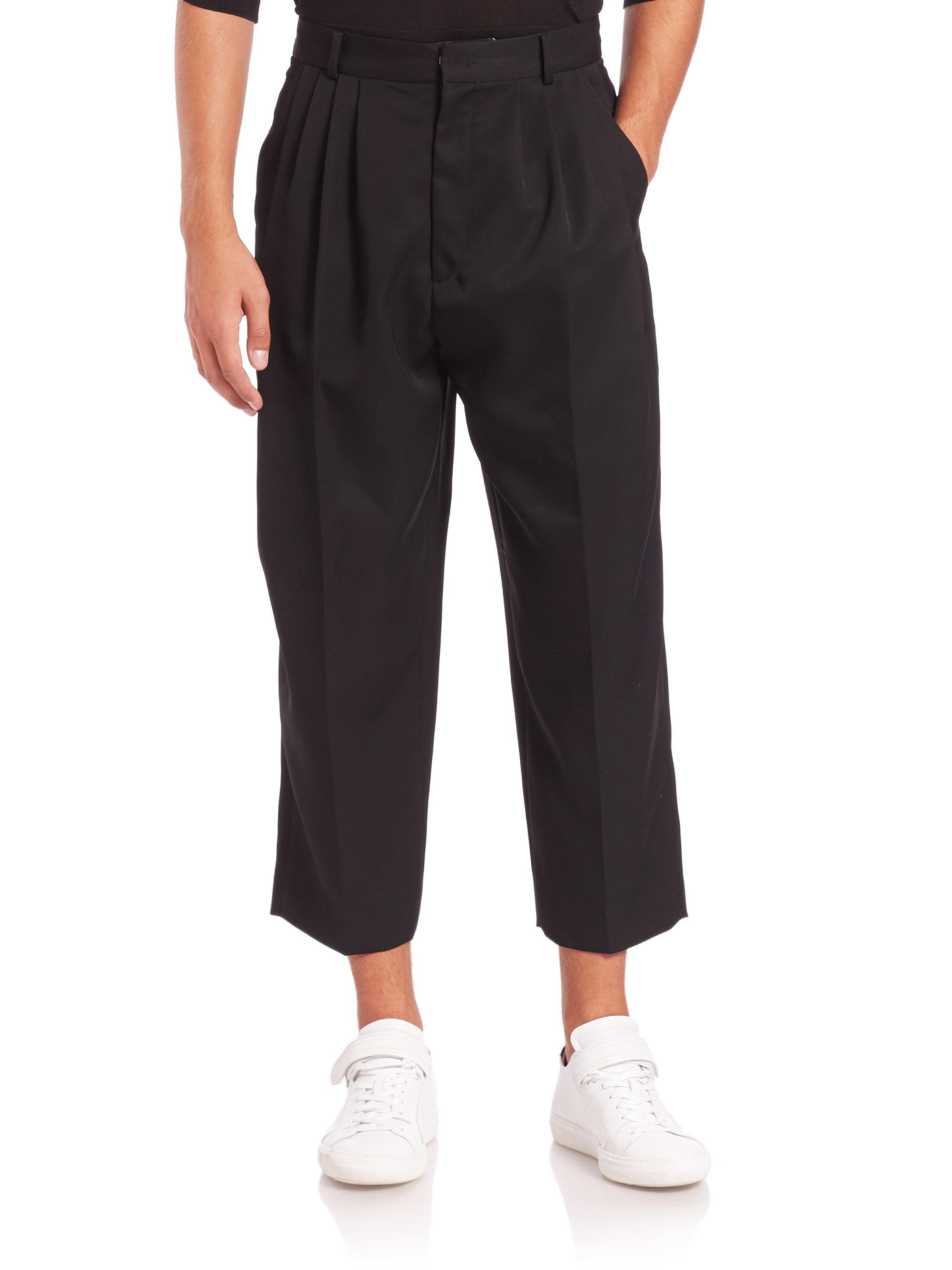 cropped trousers - Black Juun.J cP8ih3kxKC