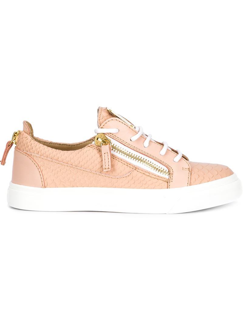 May low-top sneakers - Nude & Neutrals Giuseppe Zanotti Sale Affordable Outlet Order Outlet Discount Authentic Outlet Great Deals Clearance Newest qIGTj