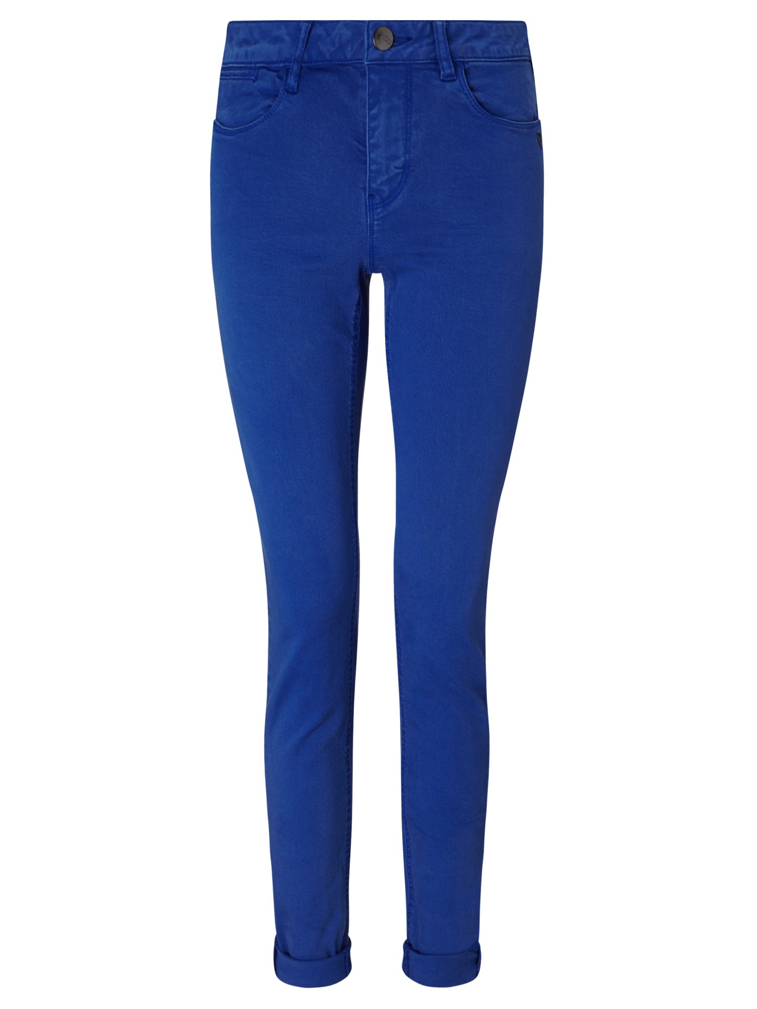 maison scotch la bohemienne skinny jeans in blue lyst. Black Bedroom Furniture Sets. Home Design Ideas