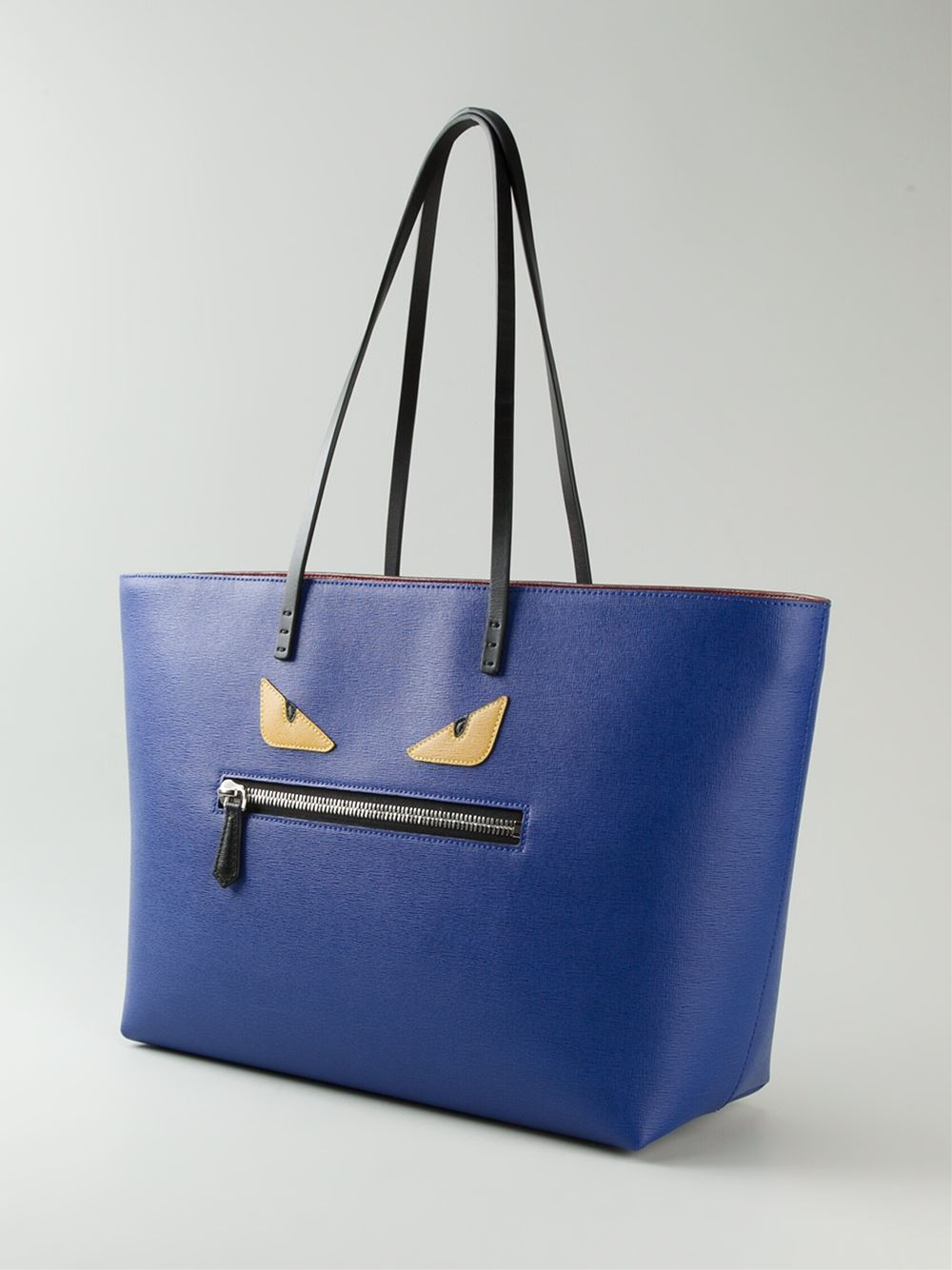Lyst - Fendi Bag Bugs  Roll  Tote Bag in Blue 5dc441b89a1e6