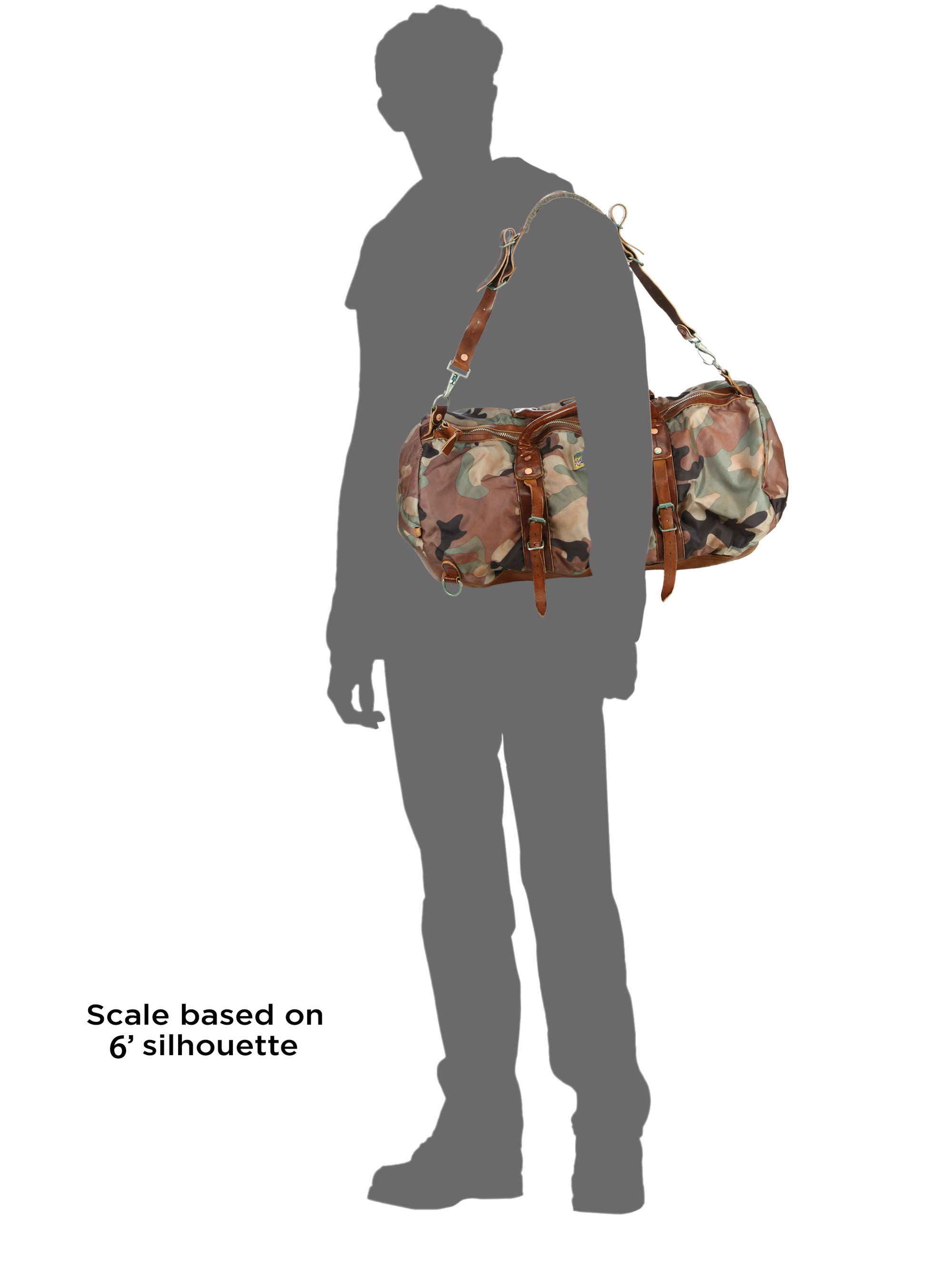 b09c92e8f55 Lyst - Polo Ralph Lauren Yosemite Nylon Duffel Bag in Green for Men