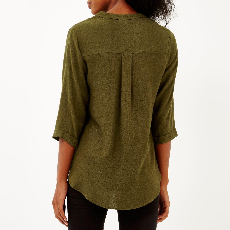 Green Khaki Blouse 82