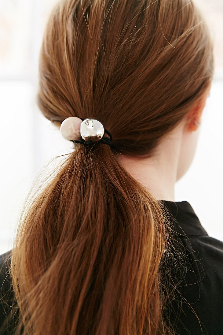 Urban Outfitters Maya S Marble Ponytail Holder in Pink - Lyst 94d4284d4b0