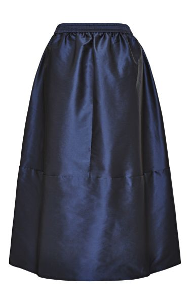 tome navy taffeta skirt in blue navy lyst