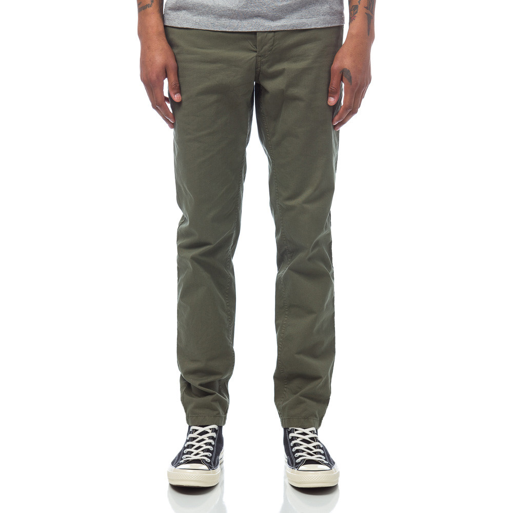 Lyst - Norse Projects Aros Slim Light Twill In Dried Olive for Men 7dd4430ab