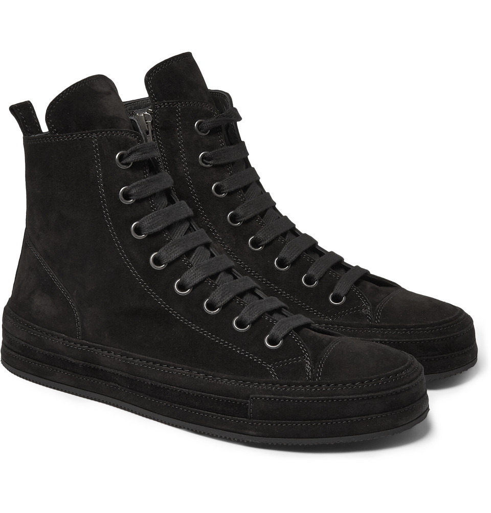 leather top sneakers - Black Ann Demeulemeester tI4zSu7r3j