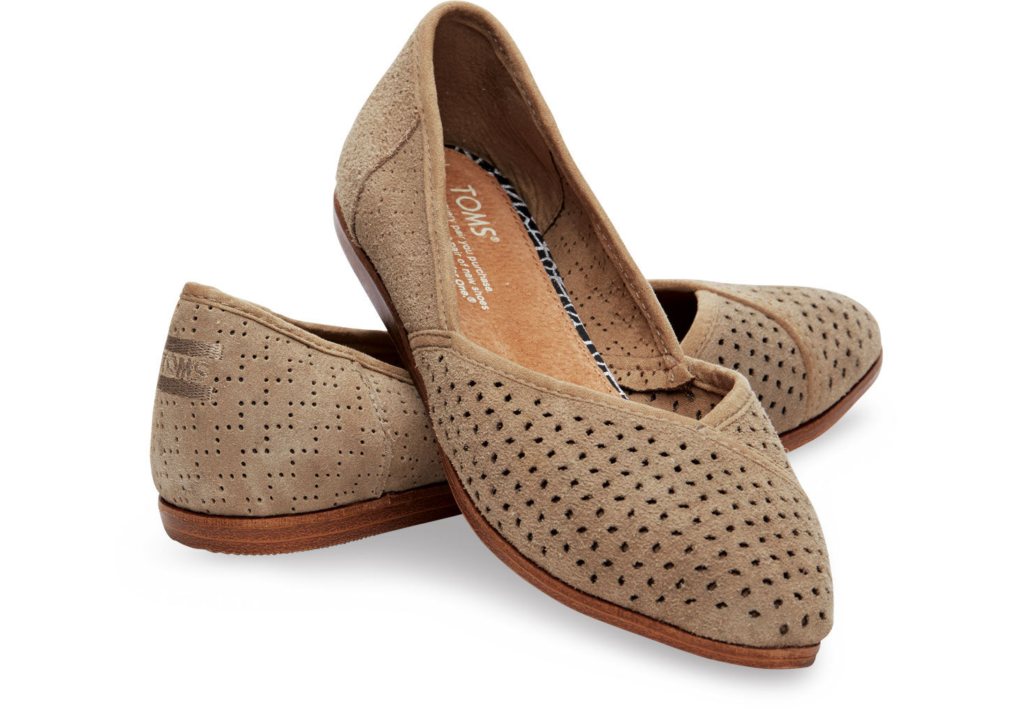 Womens Brown Toms Shoes