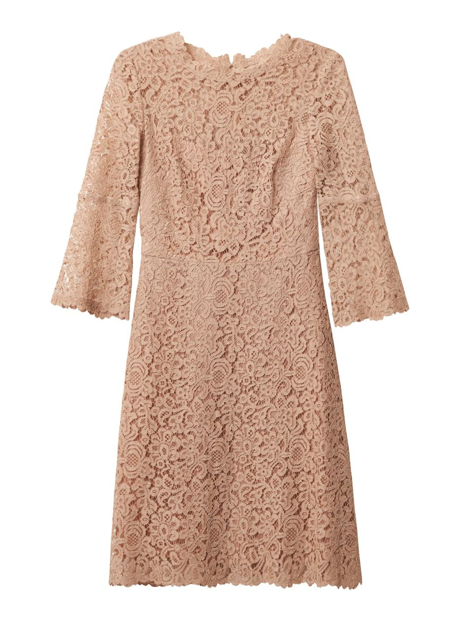 Lyst Goat Pandora Lace Dress In Natural