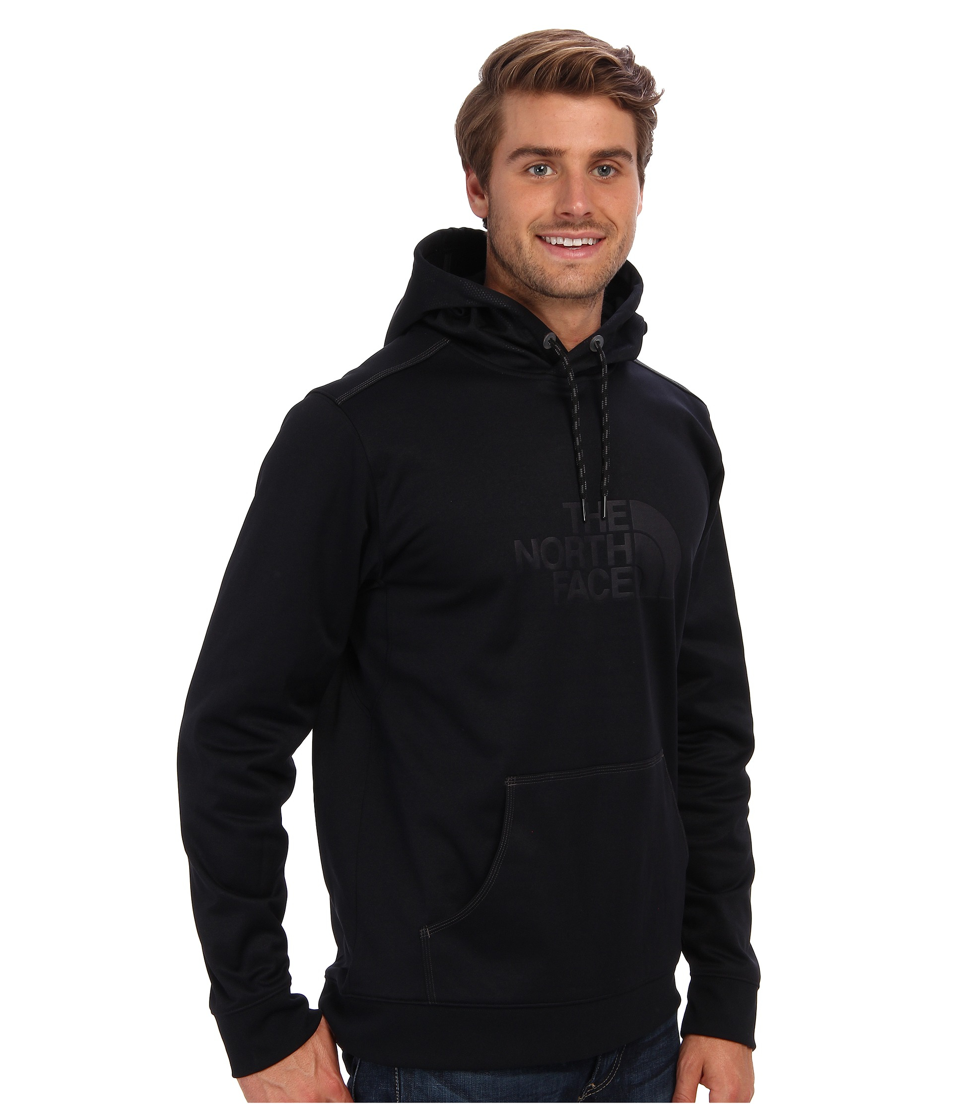 The north face Quantum Pullover Hoodie in Black for Men | Lyst