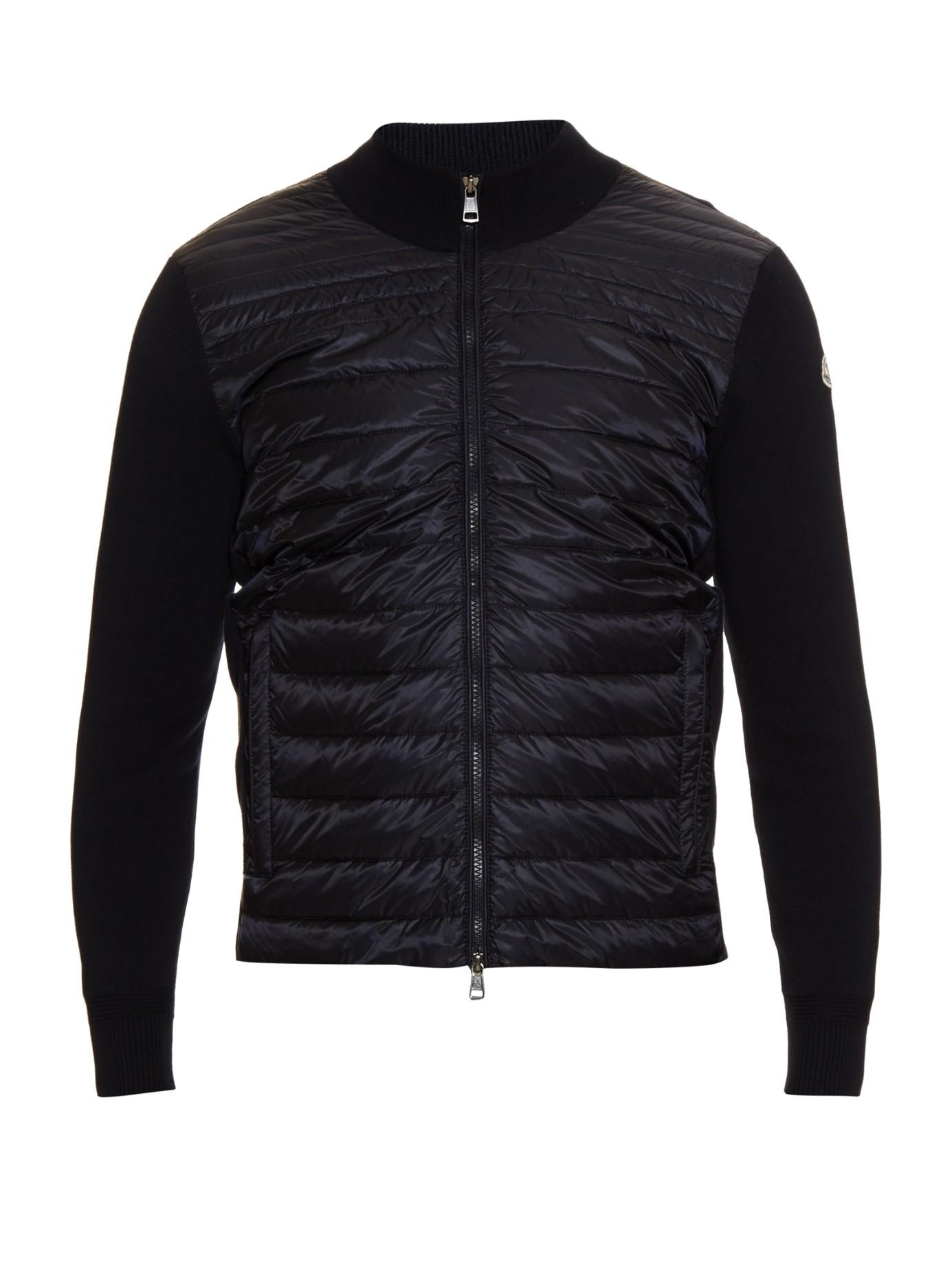 moncler knit jacket