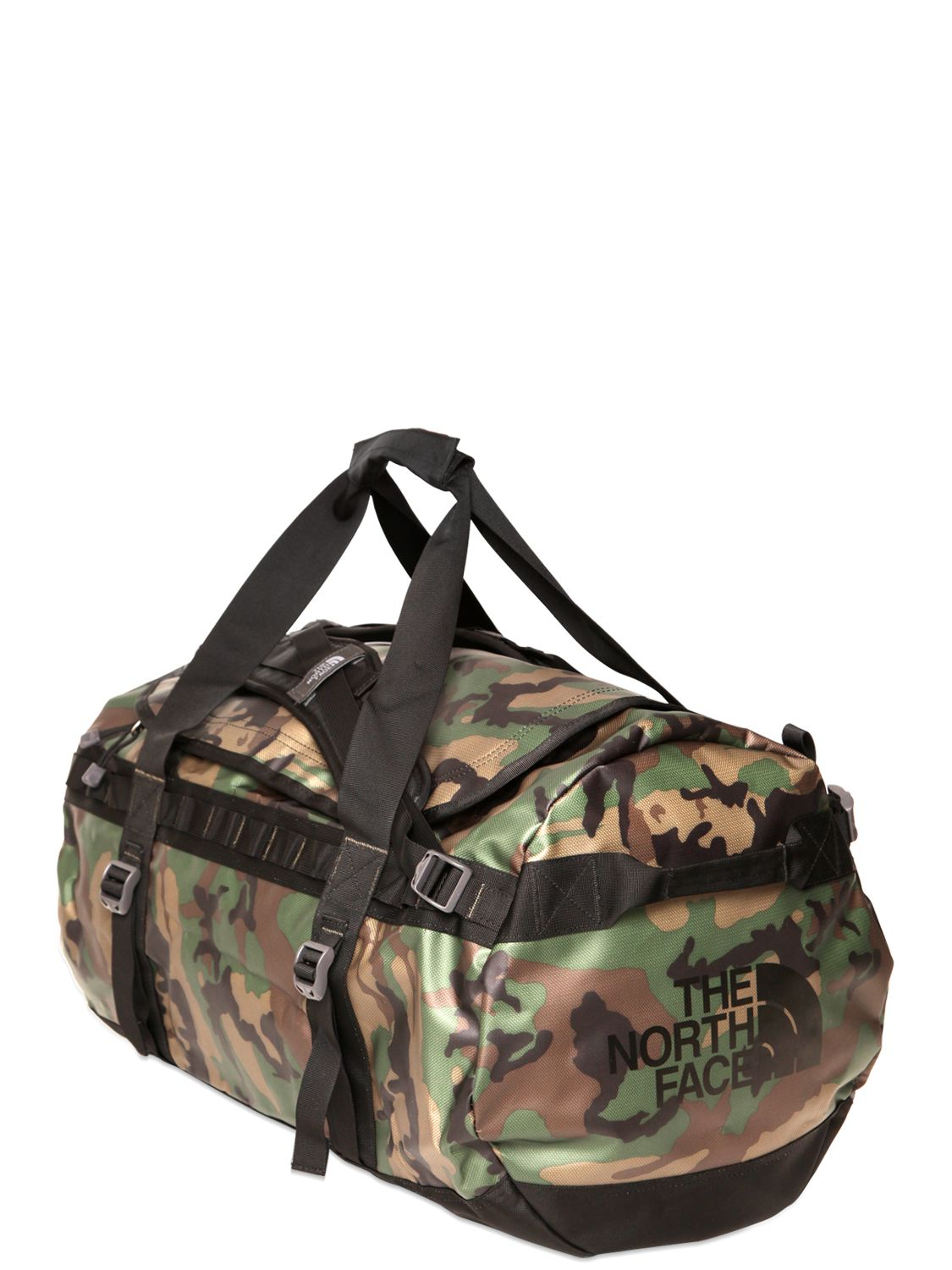 the north face coated nylon base camp duffle bag for men. Black Bedroom Furniture Sets. Home Design Ideas