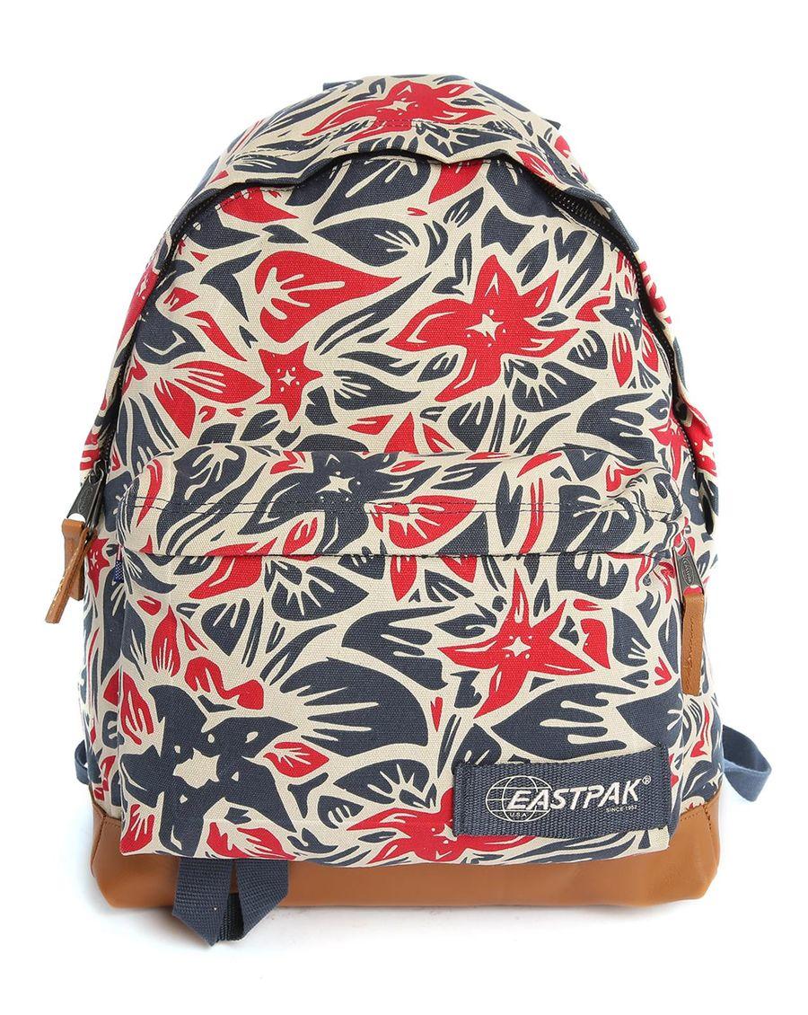 eastpak padded pak 39 r pr hawaiian pattern backpack 24 l in purple for men lyst. Black Bedroom Furniture Sets. Home Design Ideas