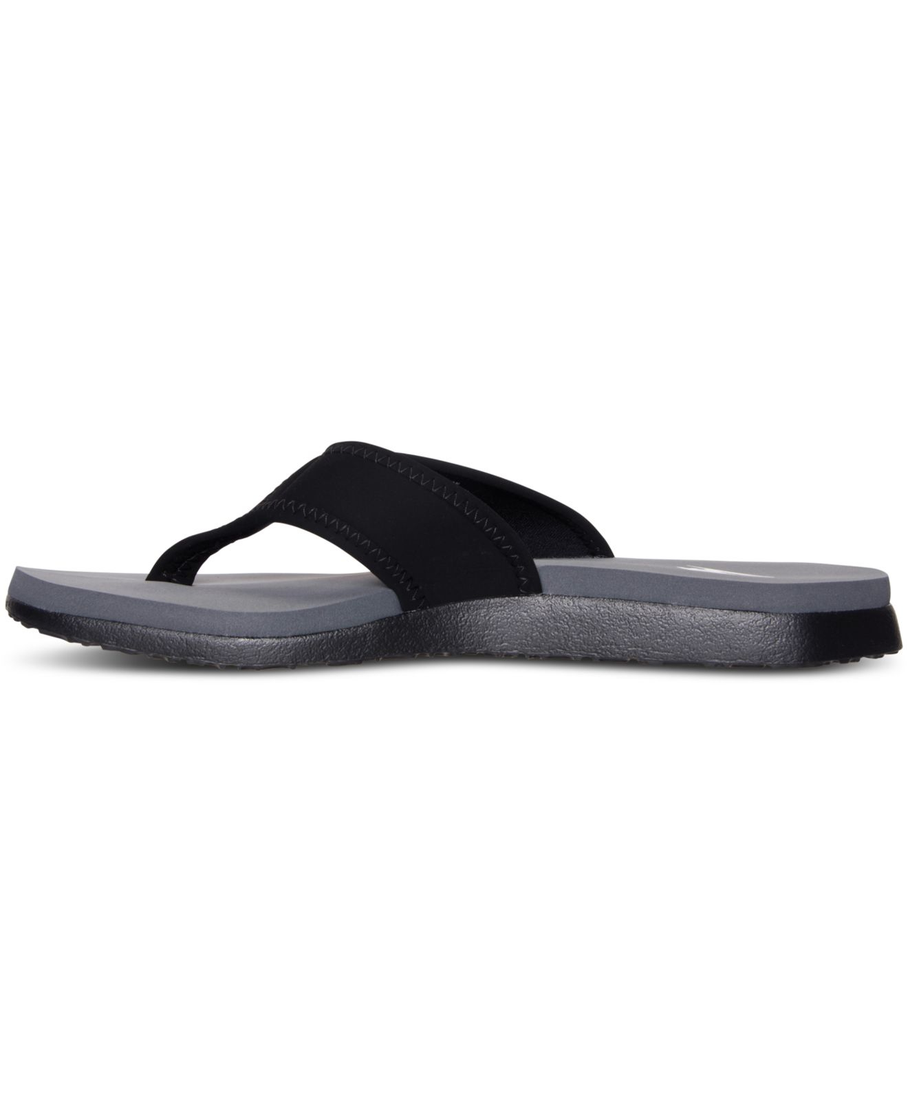 b9c717c4c8a551 Nike - Black Men s Celso Plus Thong Sandals From Finish Line for Men - Lyst