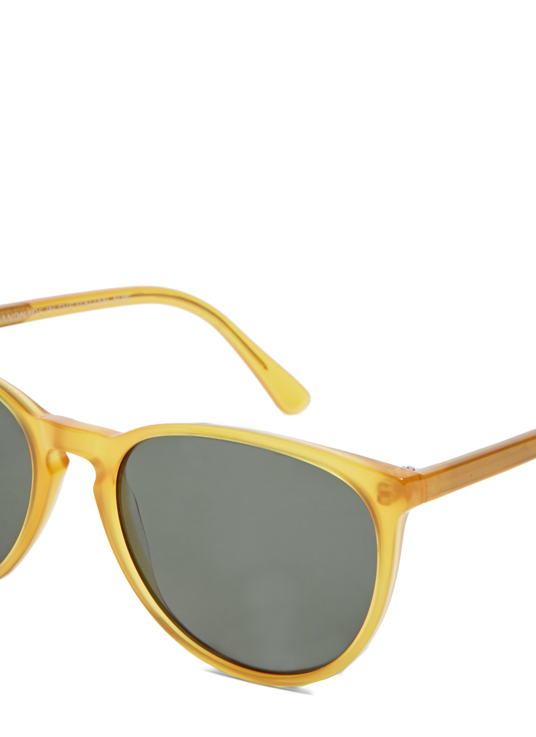 Dom Vetro Lupetto Sunglasses In Yellow For Men Lyst