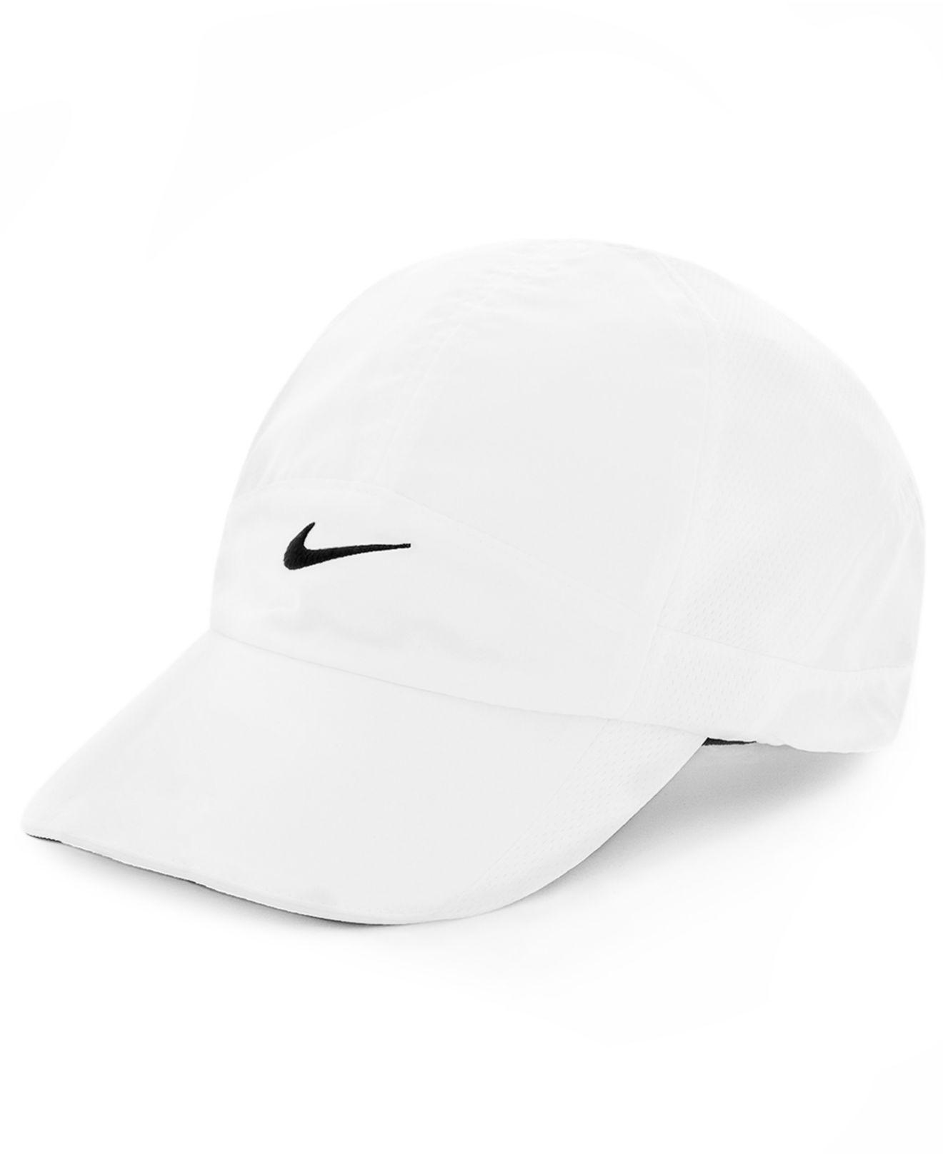 df00512c015044 Lyst - Nike Featherlight 2.0 Dri-Fit Sports Cap in White