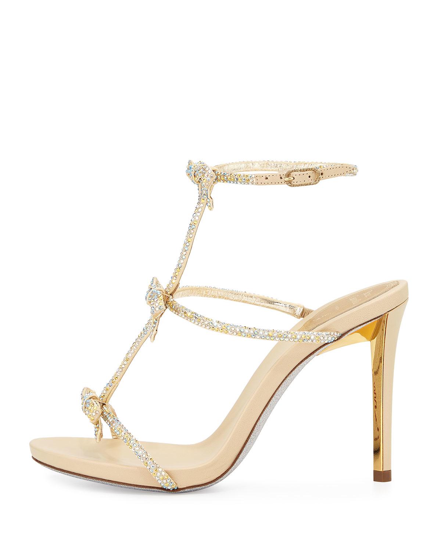 Rene Caovilla Block Heel Ankle Strap Heel prlUgZ4