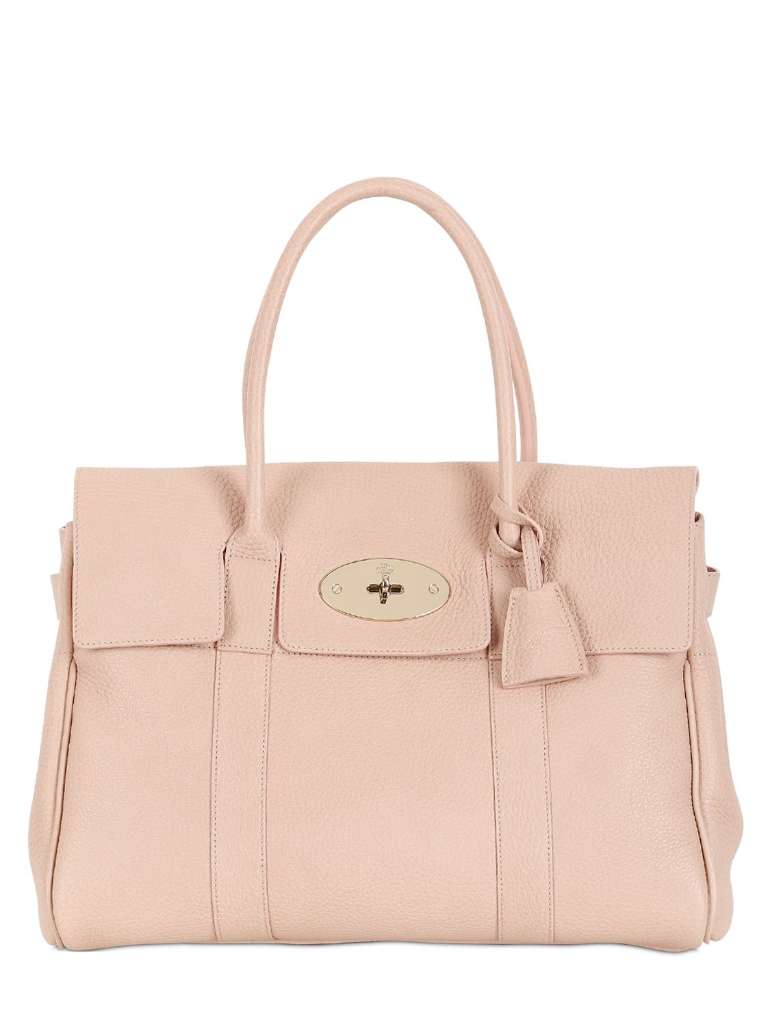 ... netherlands lyst mulberry bayswater soft grained leather bag in pink  d11ab ca225 ... c9ac72a6e1496