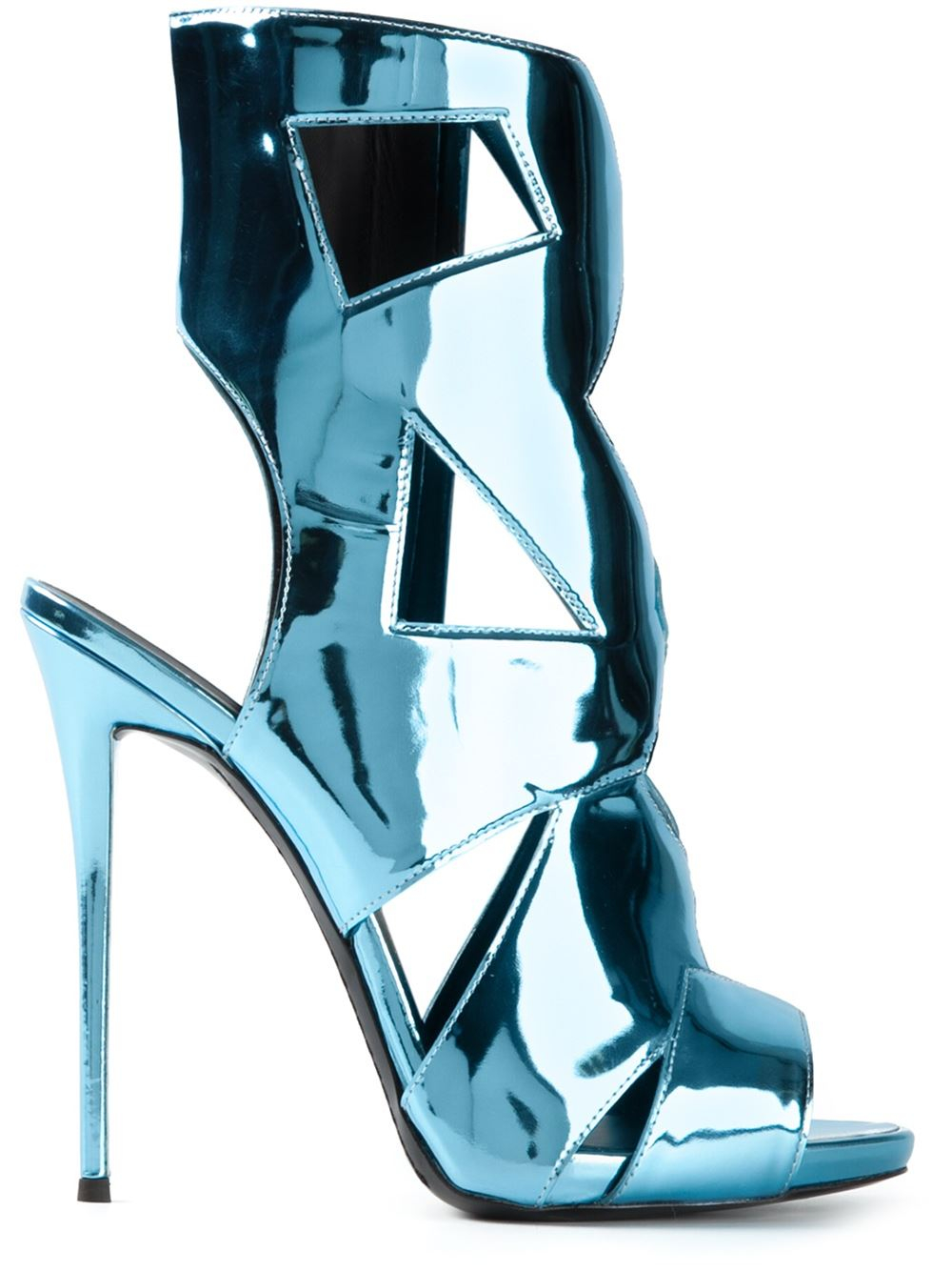 blue giuseppe zanotti heels
