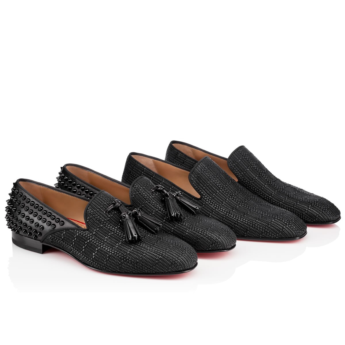 80ee799d2a3 ... reduced lyst christian louboutin dandelion flat in black for men f7a5b  37565 ...