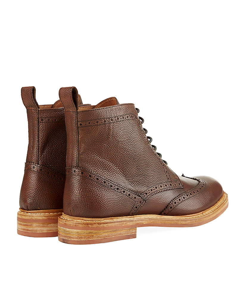 Dexter Brown Leather Shoes