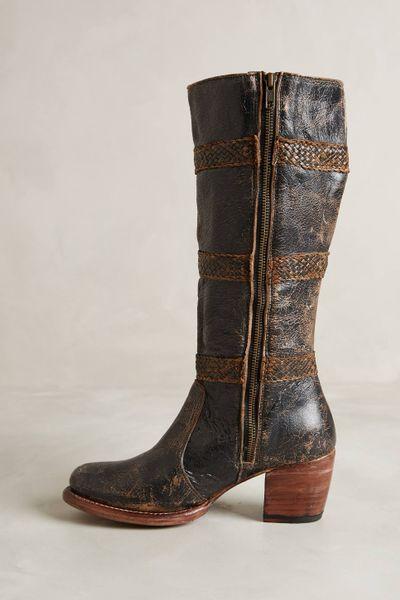 bed stu granada boots in brown black lyst