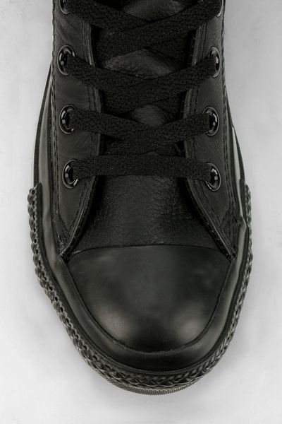 Leather High Tops Men All Star Leather High-top