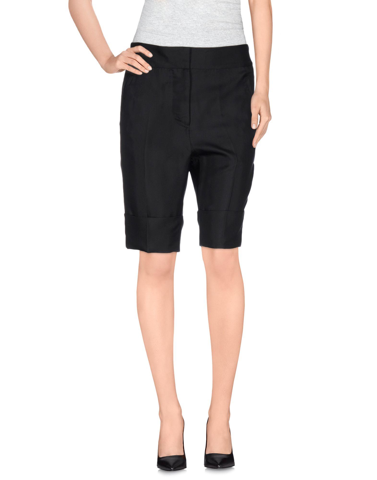 Lyst - Acne Studios Bermuda Shorts in Black