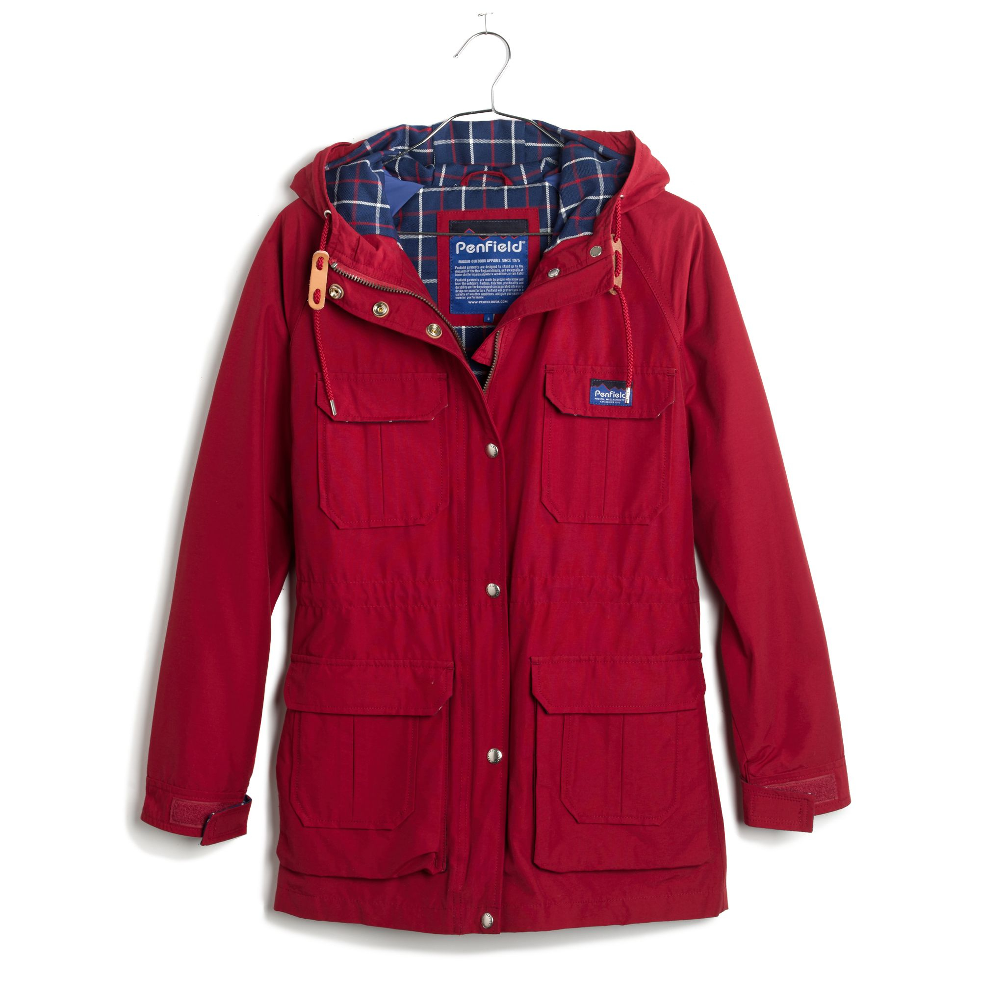 Madewell Penfield® Kasson Parka Jacket in Red | Lyst
