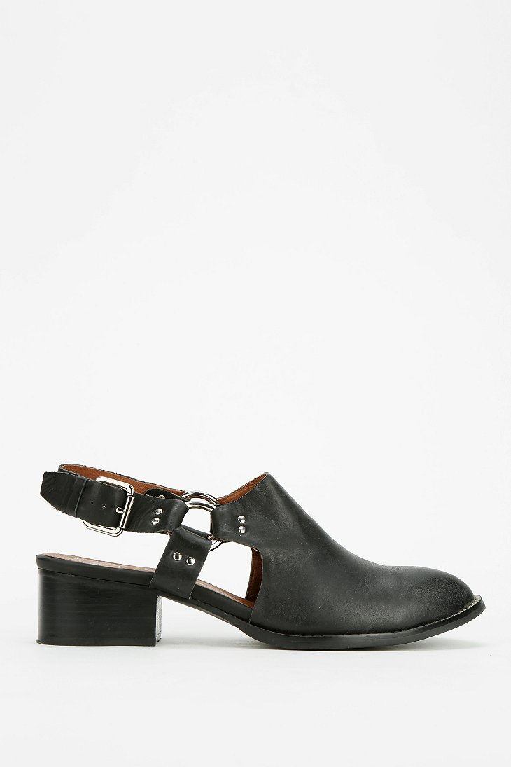 Lyst Jeffrey Campbell Borel Slingback Mule In Black