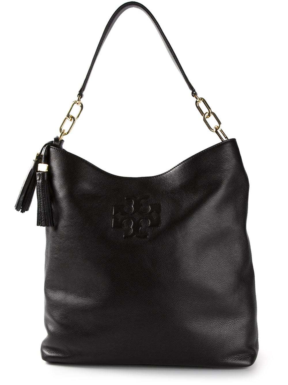 Tory burch 'Thea Hobo' Bag in Black