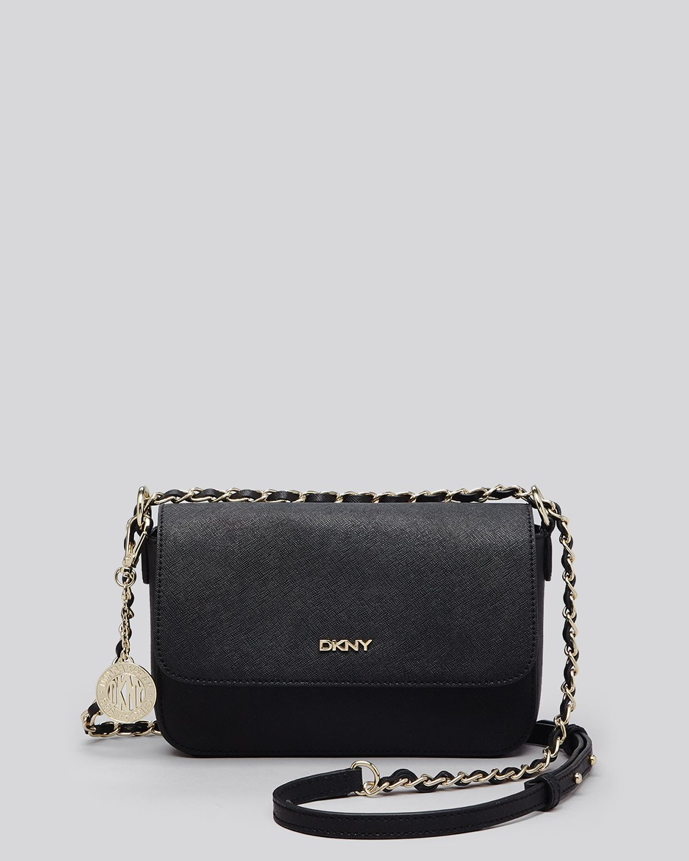 Lyst - DKNY Crossbody Bryant Park Small Flap in Black 6b327b8642222