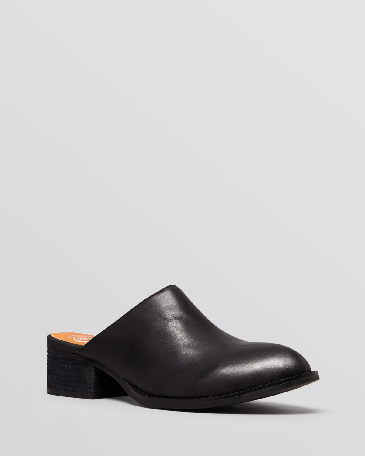 Lyst Jeffrey Campbell Flat Mules Calvin In Black