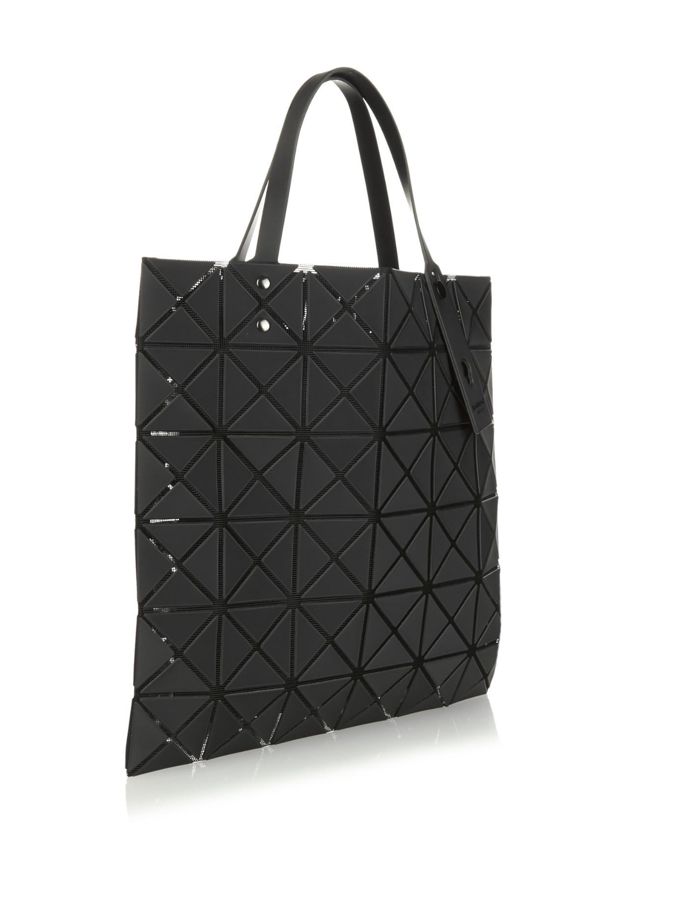 Lyst - Bao Bao Issey Miyake Lucent Basic Tote in Black a7cfc3ef57f3c