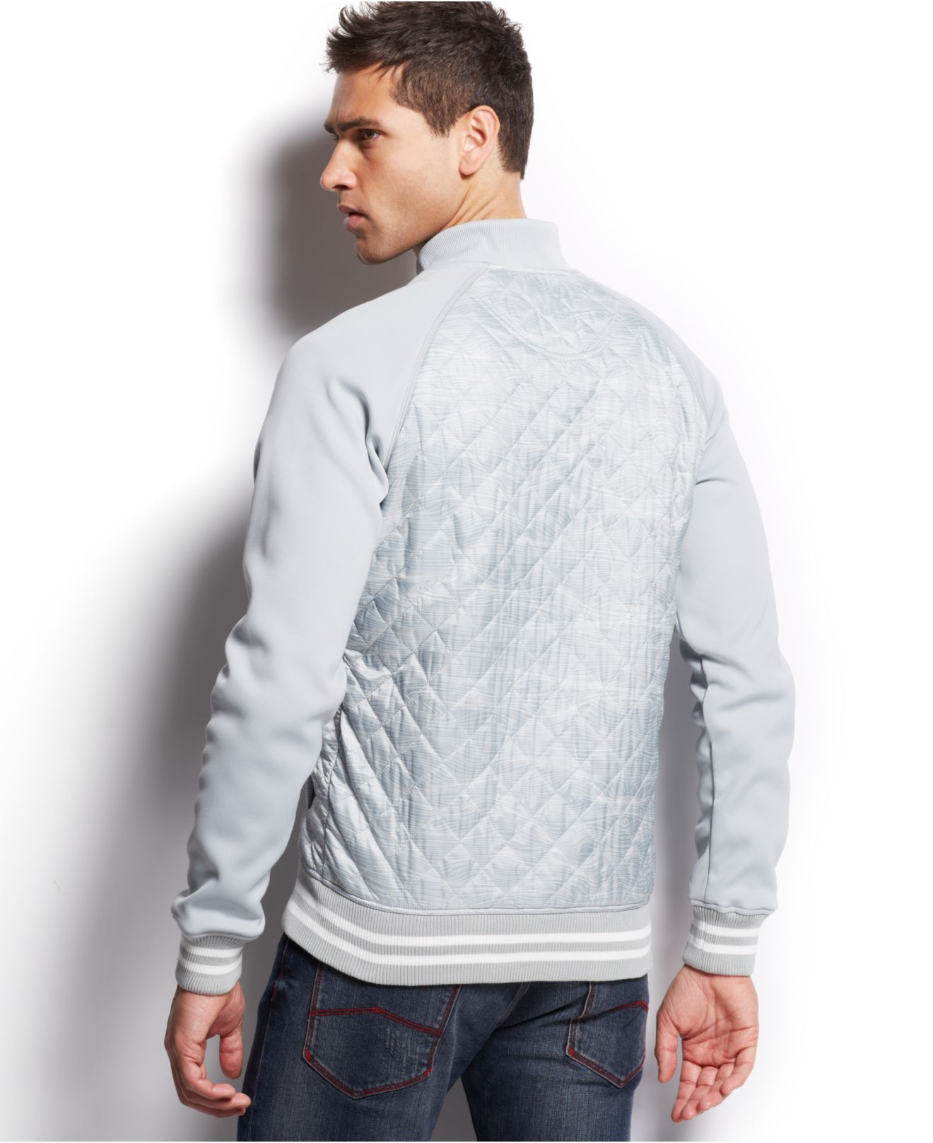 c2b445af7f03 Gallery. Previously sold at  Macy s · Men s Embroidered Bomber Jackets ...