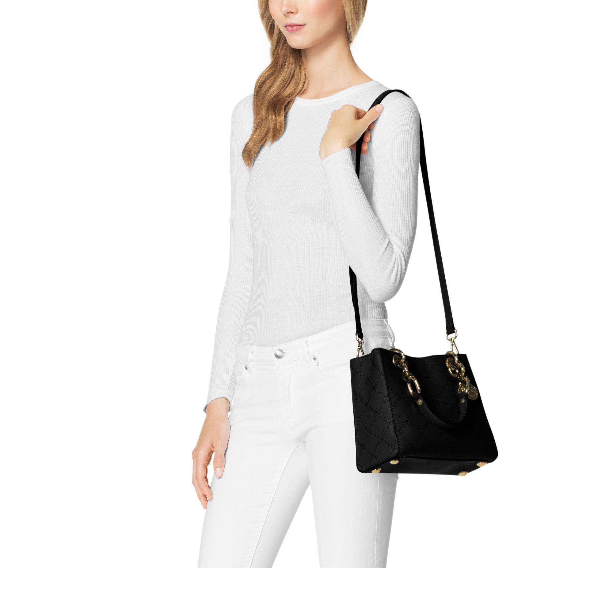 56a8e0a59d3e Womens Michael By Michael Kors Cynthia Womens Michael Kors Quilted Bag ...