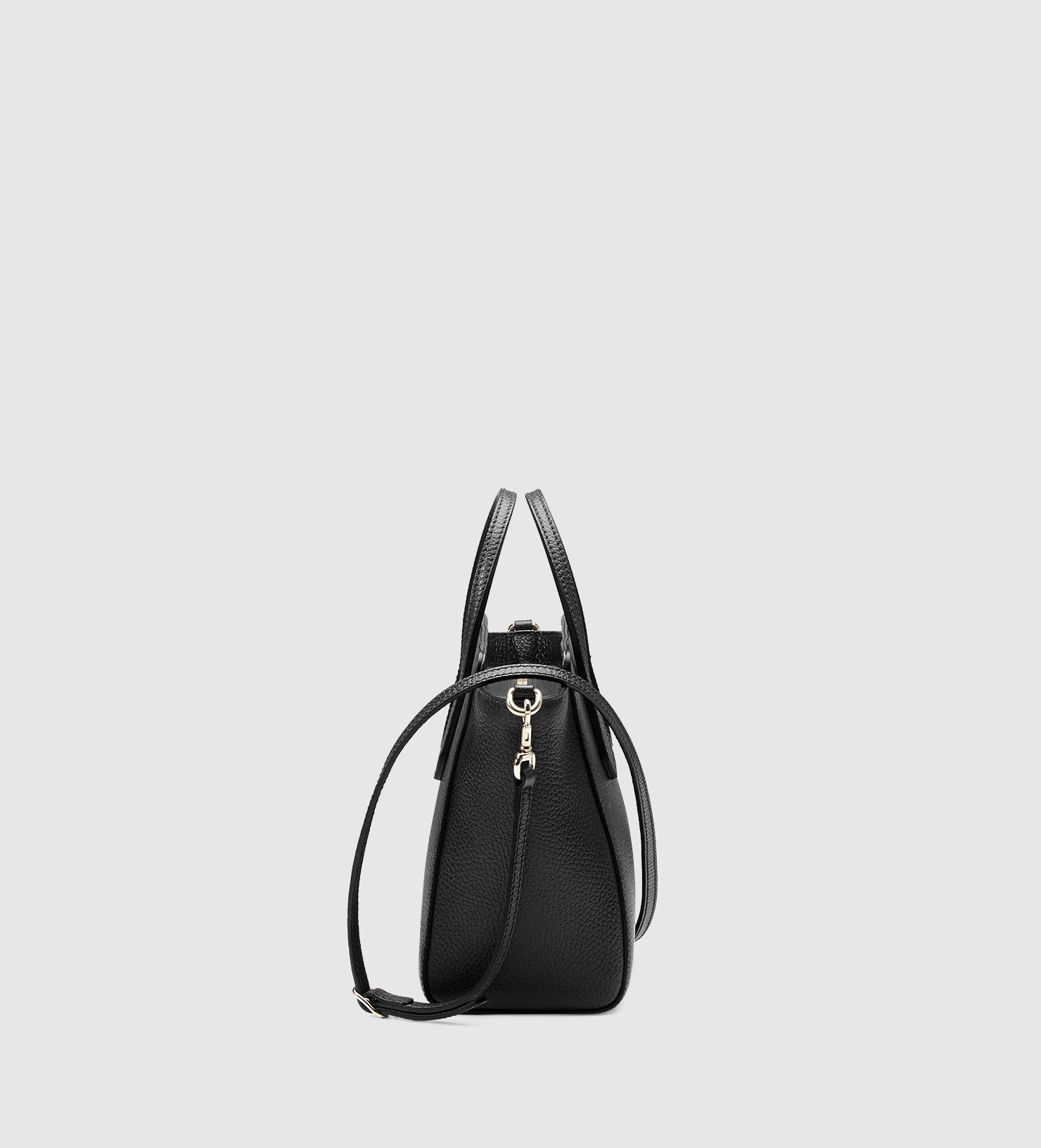 ccad40bf02ab61 Gucci Swing Mini Leather Top Handle Bag in Blue - Lyst