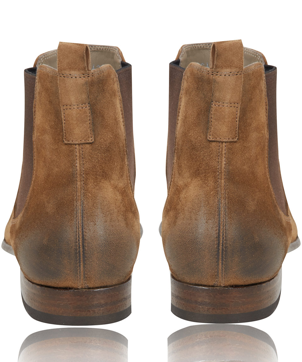 Officine Creative Princeton Suede Chelsea Boots cheapest price for sale orYvn