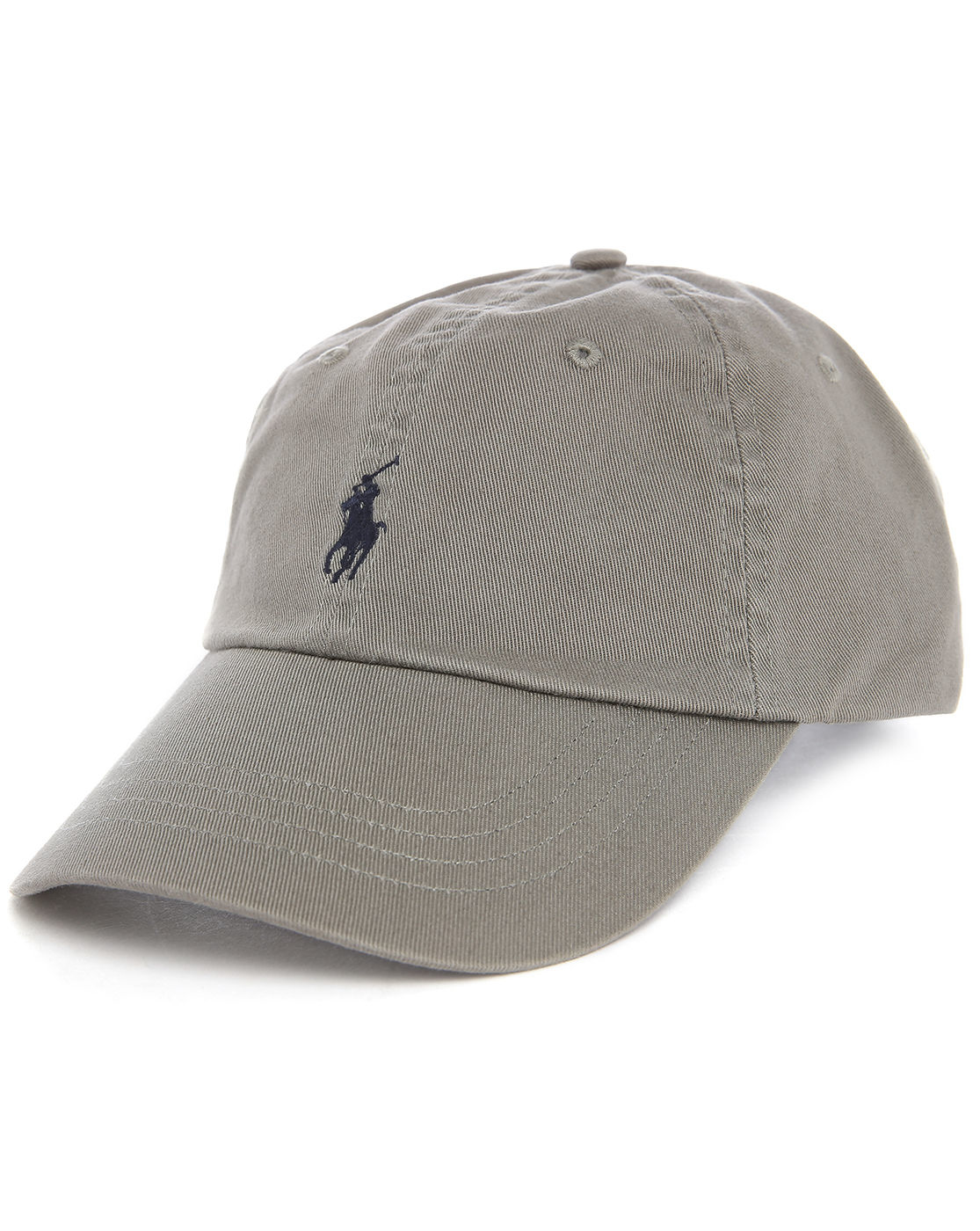 polo ralph lauren grey classic logo cap in gray for men lyst. Black Bedroom Furniture Sets. Home Design Ideas