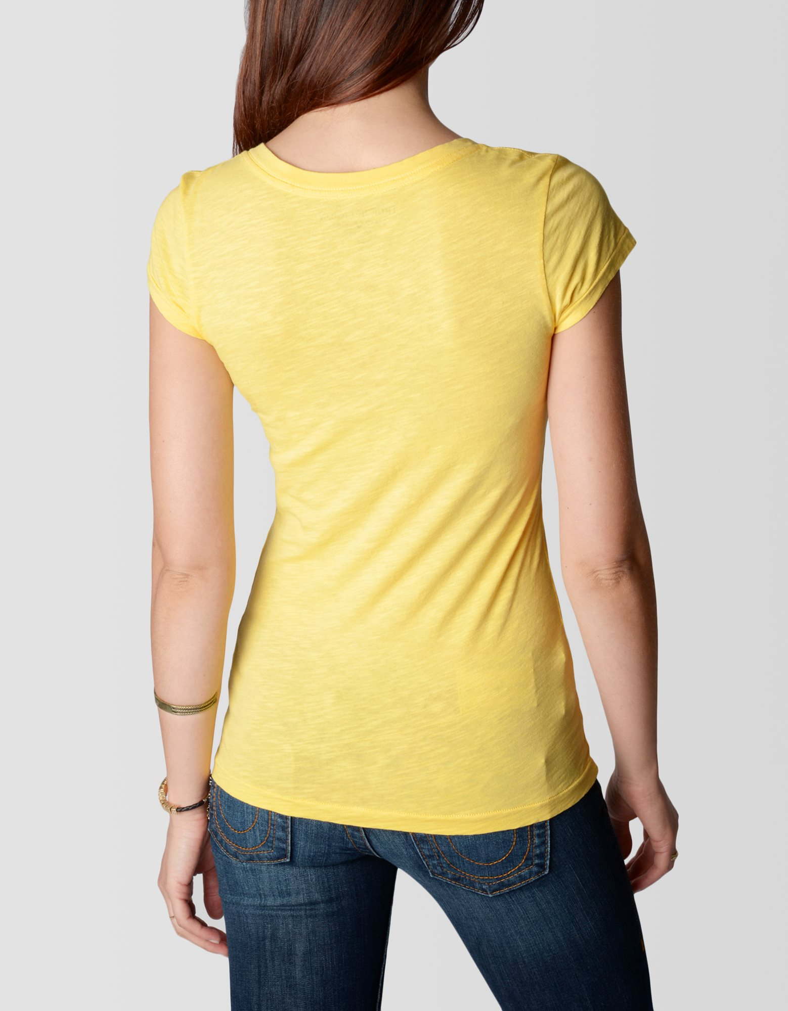 true religion find yourself in the music vneck womens t
