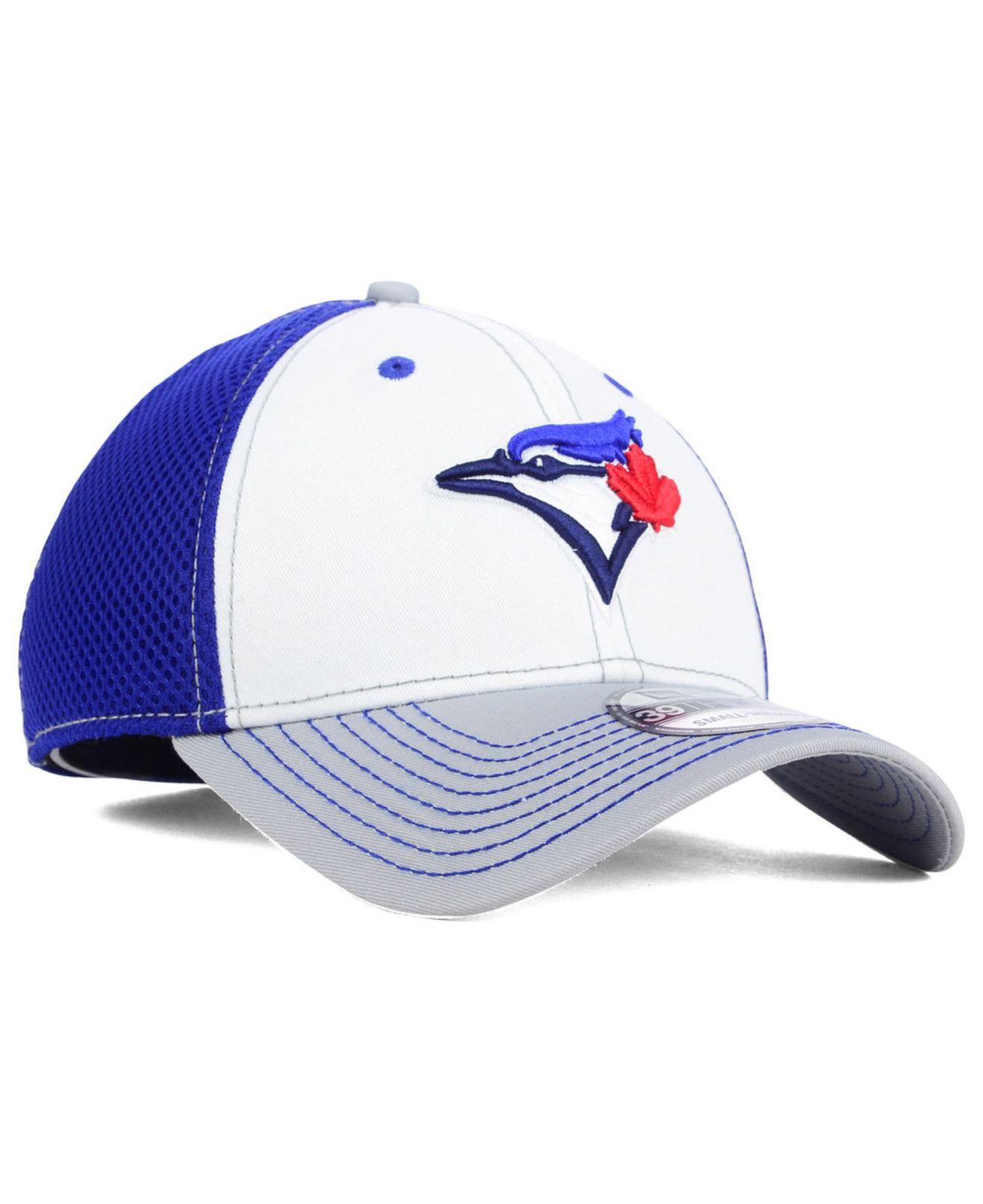 Ktz Toronto Blue Jays Neo 39Thirty Cap in Blue for Men (RoyalBlue ...