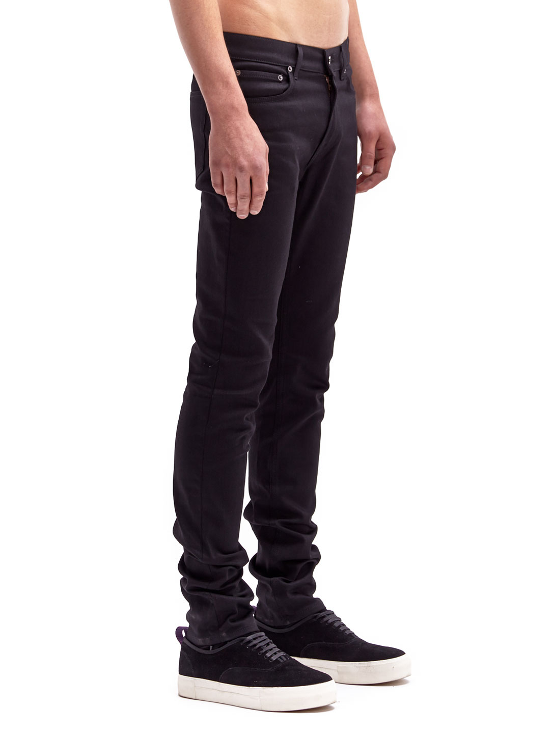 lyst acne studios ace cash jeans in black for men. Black Bedroom Furniture Sets. Home Design Ideas