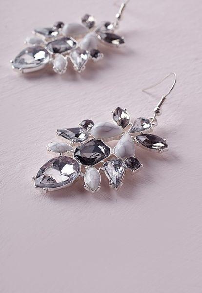 how to make marble earrings